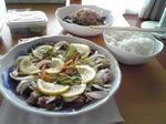 豆アジのマリネ