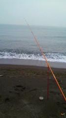 米山 砂浜